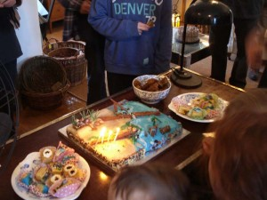 4th birthday celebrations