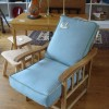 Arts and Crafts Chair 1900s with vintage covers made by Saffron Paffron