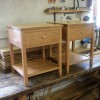 oak bedside tables
