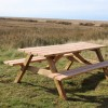 bench at Watch House, Blakeney Point