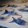 ceramic fish and birds by Kate Allsop